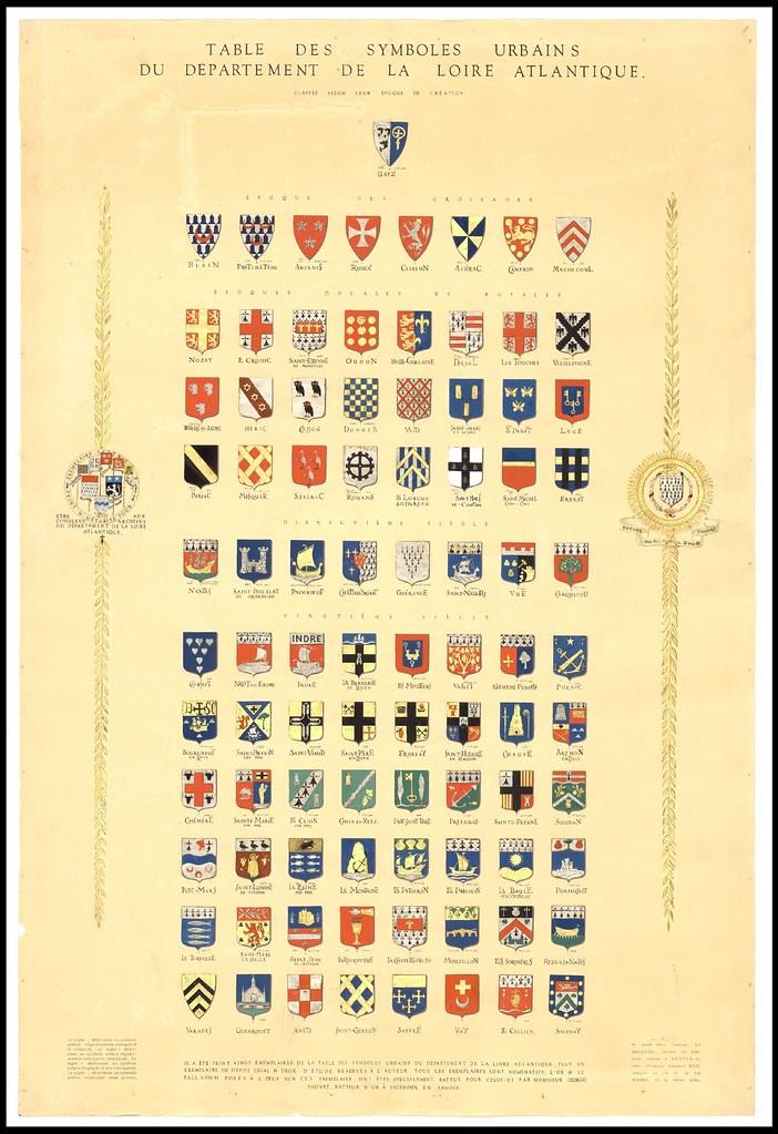 Table des symboles urbains du département de Loire-Atlantique. manifestation culturelle ouvrage d'art [Autres lieux hors département] Loire Atlantique