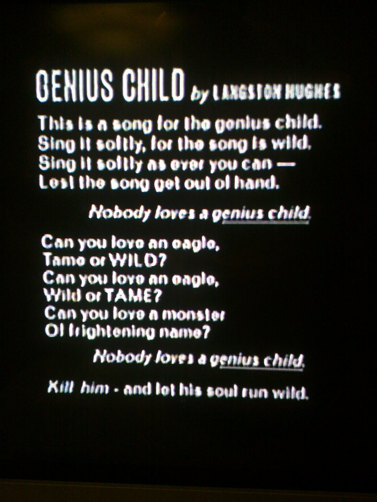 Langston Hughes As A Child Genius childLangston Hughes As A Child