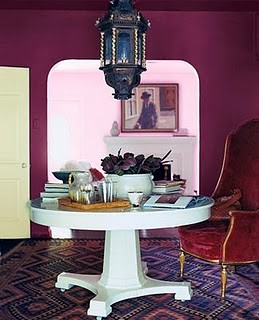 deep plum room