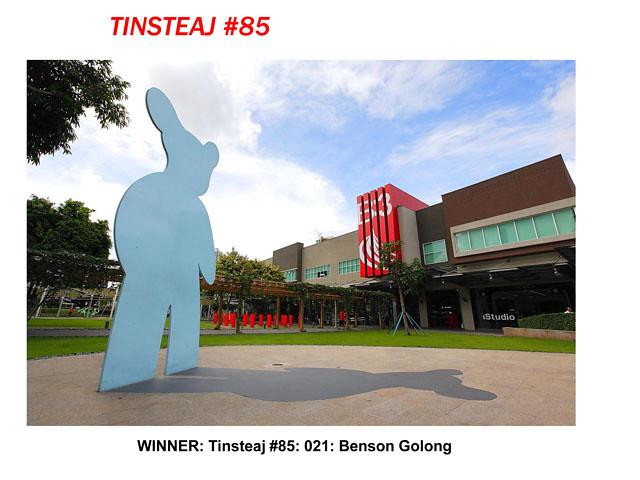 Tinsteaj #85 by Benson Golong