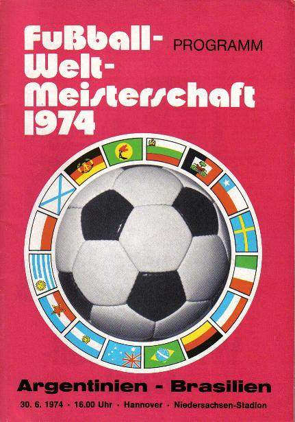 1974 World Cup - Brazil v Argentina