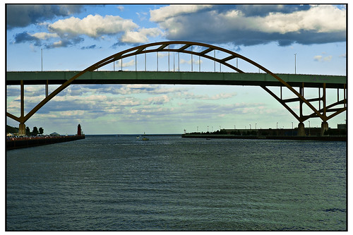 Hoan Bridge Milwaukee