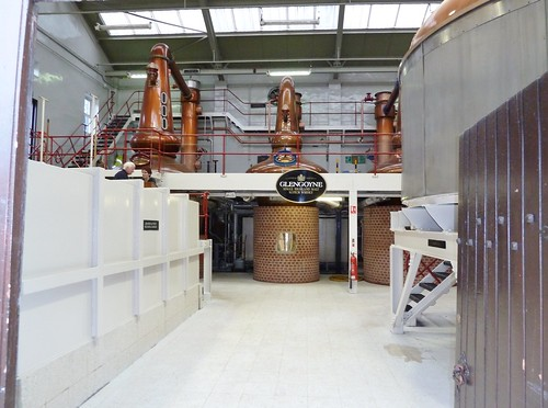 Whisky Stills at Glengoyne