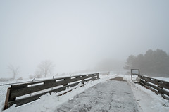 Icy Foggy Bridge DSC_0863 by Mully410 * Images