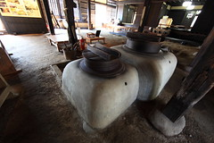Old Style Kitchen Range / KAMADO / () (TANAKA Juuyoh ()) Tags: house home kitchen architecture japanese design high ancient folk farm traditional style hires resolution 5d hi residence res range  ibaraki markii  kamado joso       sakano  canonef14mmf28liiusm