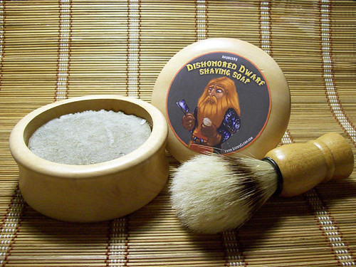 Dishonored Dwarf Shaving Soap Kit