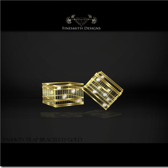 Fashion Trap Bracelets Gold