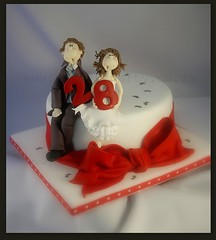 Happy 28th Anniversary! (Dot Klerck....) Tags: cake southafrica capetown dot cricket wellington boyscake eatcakeparty