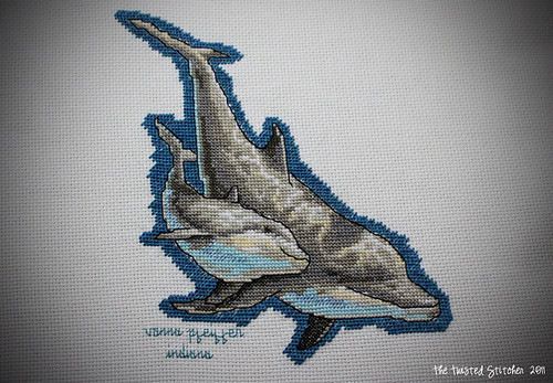 Dolphins Square for Love Quilts