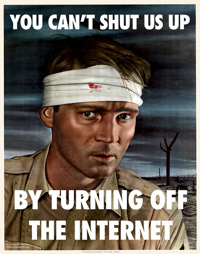 You Can't Shut Us Up By Turning Off the Internet