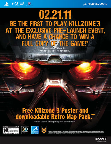 Killzone 3 Midnight Launch at WALMART