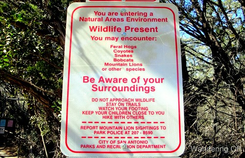 Sign, Friedrich Wilderness Park