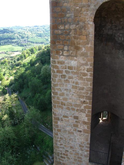 オルヴィエートからの風景のフリー写真素材