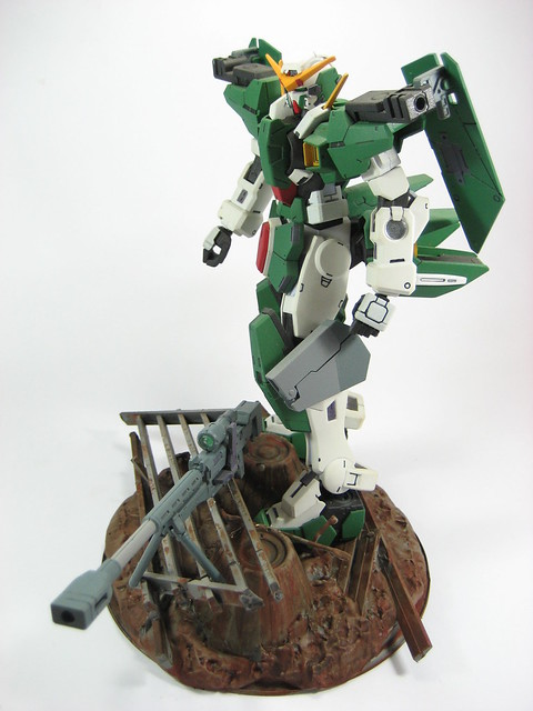 1st Diorama Try using 1/100 Gundam Dynames