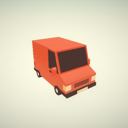 Postal Van