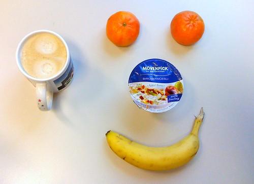 Mövenpick Birchermüsli Apfel-Birne, Clementinen & Banane
