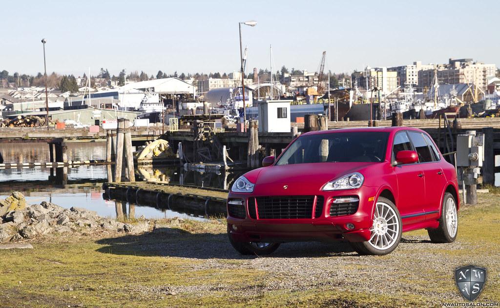 Matte Car Wrap Seattle