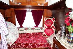 Thomas 1916 Showmans Living Van (SpixPix) Tags: thomas rally caravan chertsey tractionengine haddenham gypsycaravan vardo showmanswagon spixpix livingvan1916 nj8397