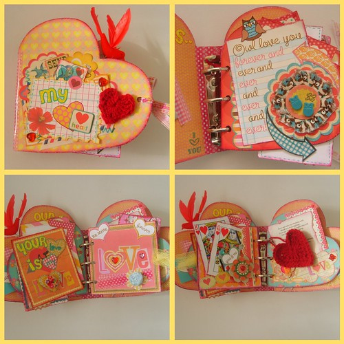 My Heart Mini Album collage