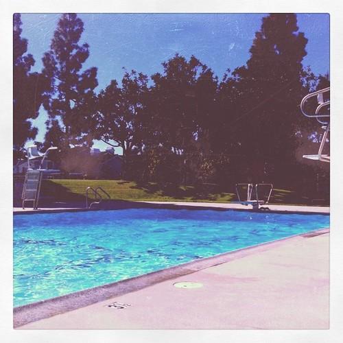A SoCal Saturday at the pool.