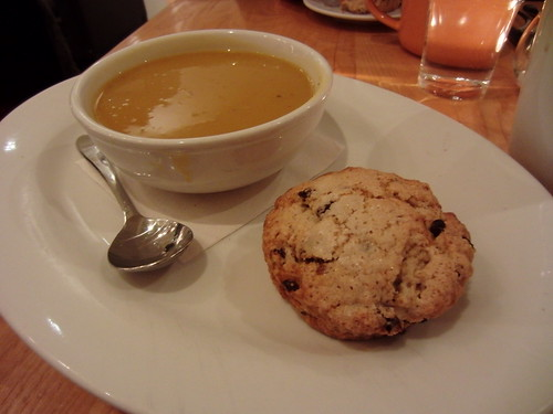 The Steeping Room, Austin, TX - Soup & Scone