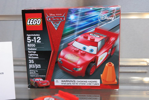 LEGO Toy Fair 2011 - Cars - 8200 Radiator Springs Lightning McQueen - 1