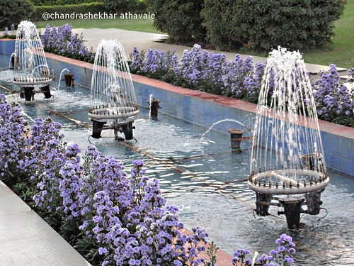 Fountains in Tungbhadra dam garden