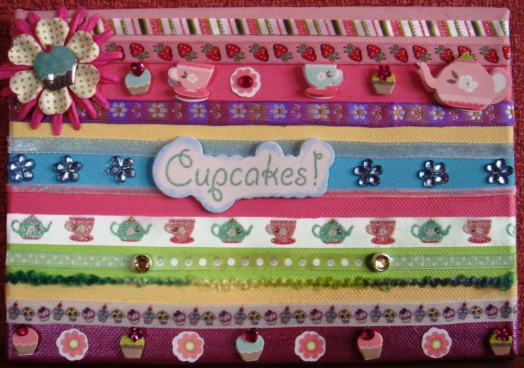 Cupcake Canvas 3