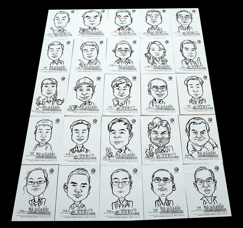 caricatures for Pico Art and Volkswagen - 3