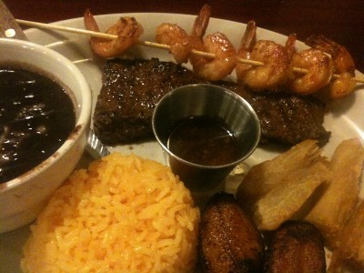 Surf-n-turf at Emilio's
