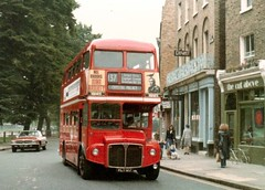 RM  127  12/7/79 (colinfpickett) Tags: lt londontransport london dms rm routemaster vintage buses coaches classics