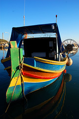 Maltese colors in Marsaxlokk (adudi) Tags: wood color boat fishing nikon barca malta colori pesca legno gozo comino marsaxlokk blueribbonwinner d40 colorphotoaward adudi
