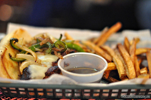 Philly Prime Rib Melt at The Forest Laker Bar & Grill ~ Forest Lake, MN copy