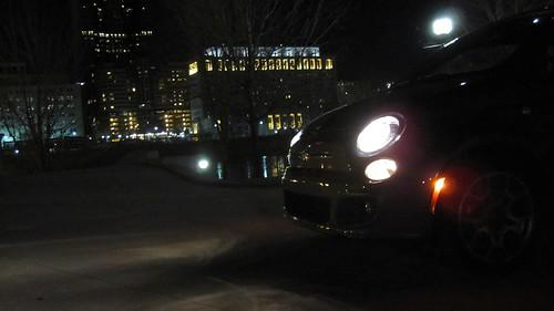 24 - 2012 FIAT 500 - Columbus, OH skyline.