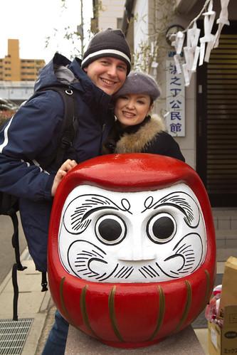 Junko, Daruma and I