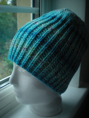 Turquoise hat (gift)