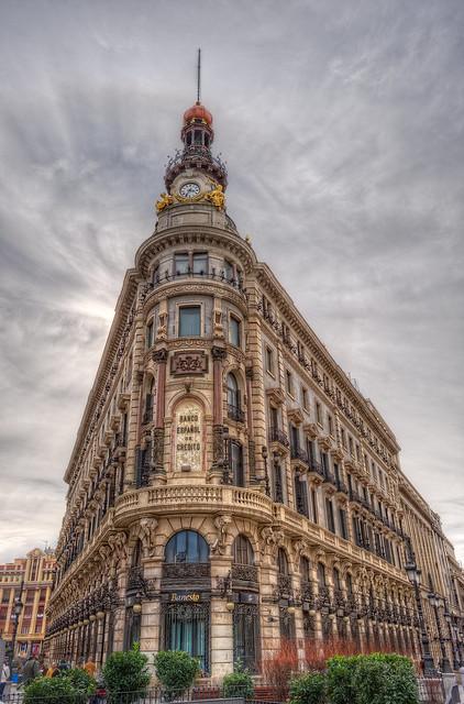 Banesto, Madrid (Spain), HDR