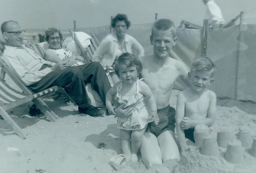 McCreath family and friends  Bridlington 1962