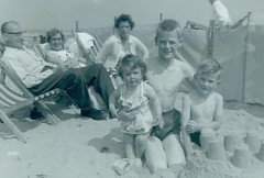 Image titled McCreath family and friends  Bridlington 1962