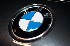 BMW Badge (Joshishi) Tags: auto show chicago cars logo illinois badge bmw 2011 105mmf28dmicro