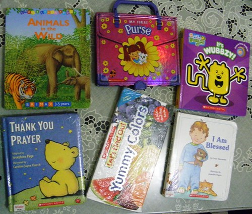board-books, scholastic-warehouse-sale, wubbzy, thank-you-prayer book