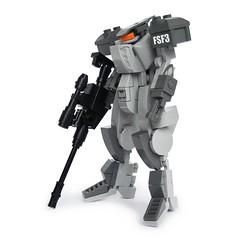 Ongy F3 - Sniper Class (Fredoichi) Tags: robot lego space military micro mecha mech microscale fredoichi