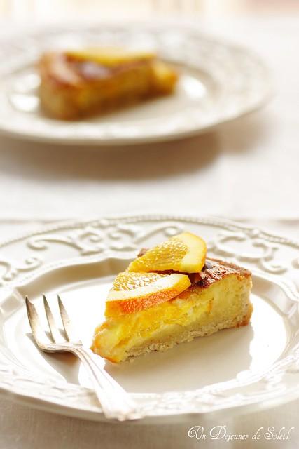 Tartes aux noisettes et à l'orange (hazelnuts and orange tart)