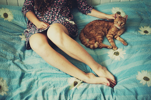 her cat by laura makabresku