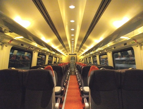 Carriage on the Midland Main Line - Standard Class