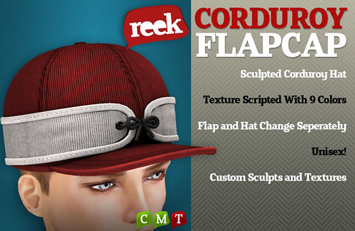 Reek - Corduroy FlapCaps