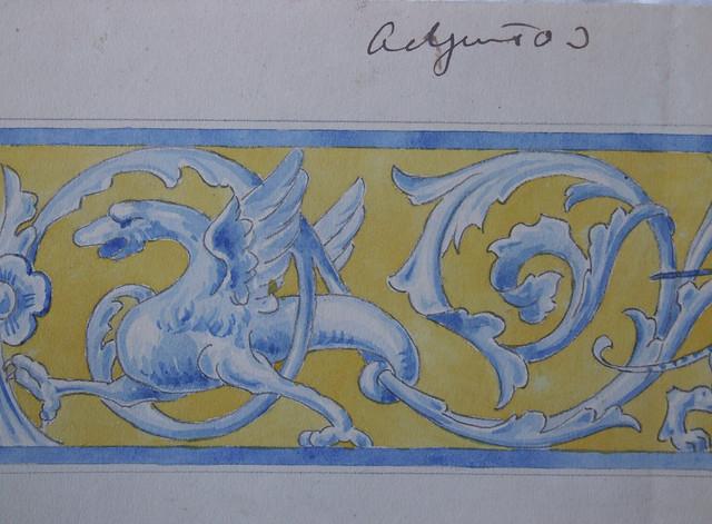 Dibujo de Sebastián Aguado para los Urinarios de Zocodover