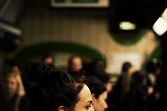 (CL Photog) Tags: london underground tube rush hour passangers