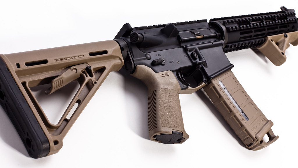 Magpul Fde Stock Magpul Pmags 30rd W/window Fde
