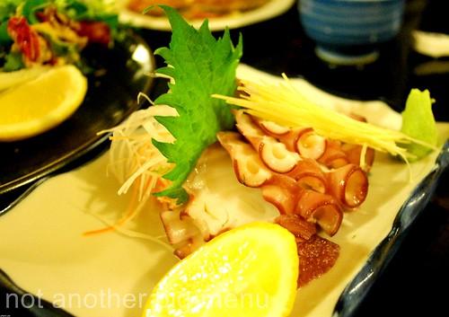 Asakusa, Camden - Tako sashimi £6